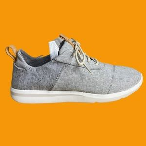 Toms Drizzle Grey Chambray Mix Cabrillo Sneakers